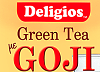 Green Tea with GOJI from Cyprus Dietician