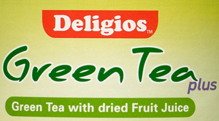 Green Tea Cyprus Dietician with dried fruit juice